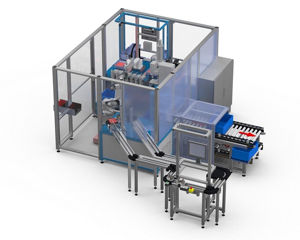 Montageanlage Automatisierung