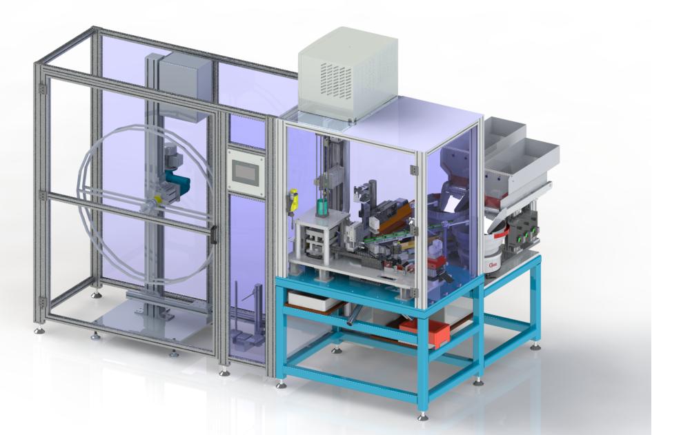 Montageautomat mit Stanzung